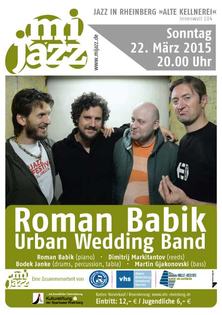 Roman Babik Urban Wedding Band
